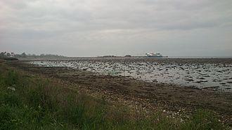 """Endelave - Image: """"Vadehavet"""" ved Endelave"""