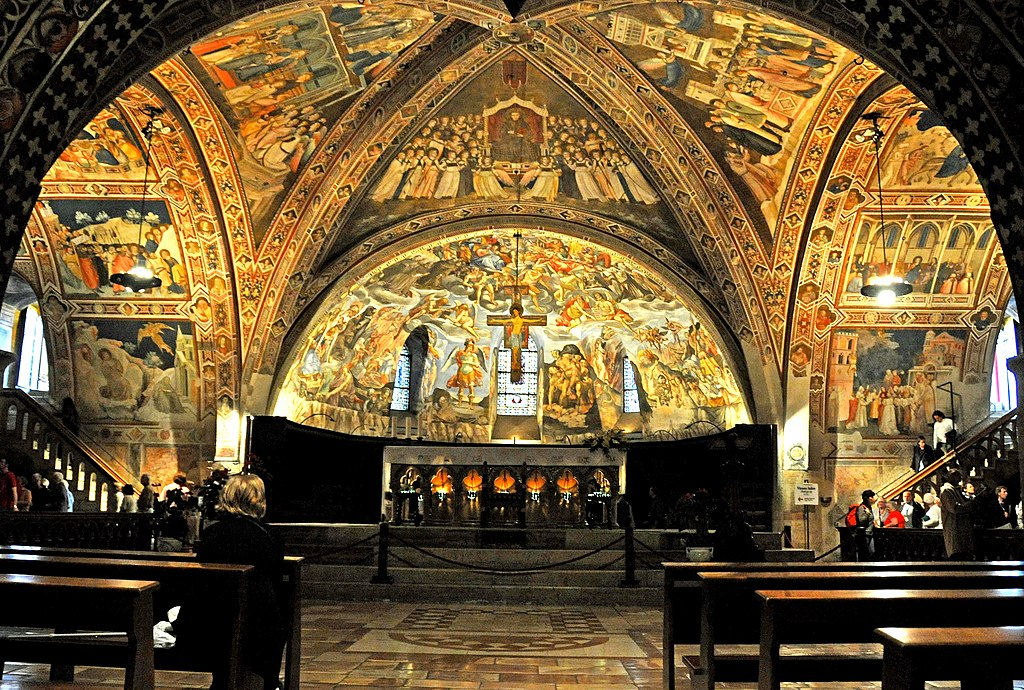 церкви ассизи, франческо ассизи, сан франческо в ассизи, ассизи базилика, церковь сан франческо в ассизи