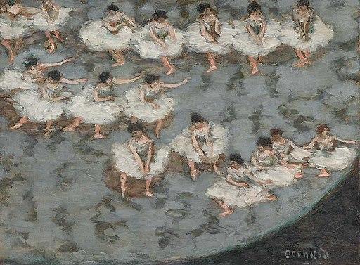 'Dancers' by Pierre Bonnard