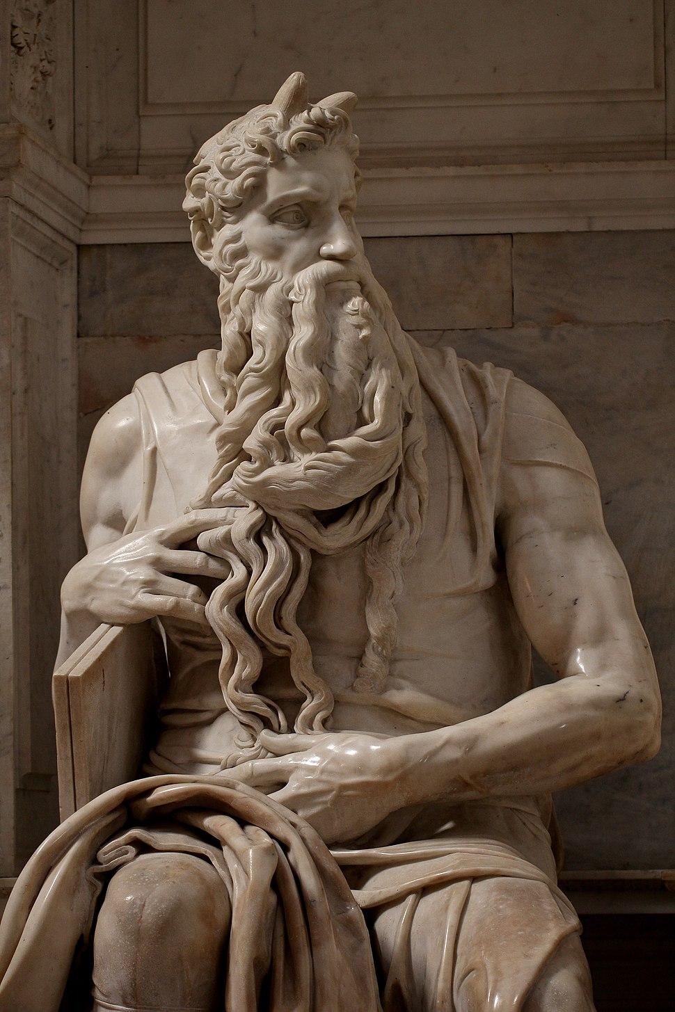 'Moses' by Michelangelo JBU190
