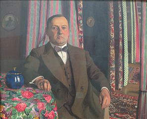 Portrait of Georges Haasen