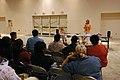 (Hurricane Katrina) Biloxi, Miss., April 24, 2006 -- Carolyn Galardo, FEMA Katrina Disaster CORE Program Staff Chief, briefs the Joint Field Office (JFO) staff on hiring procedures - DPLA - e66d2aad145fca65860daf1aca7db0b6.jpg