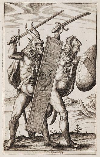 Philipp Clüver - Image: +Germaniae antiquae libri tres, Plate 18, Clüver