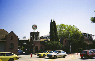 Jim Henson Company Lot - Image: @ A&M Studios Main Gate, 11 Feb 1988
