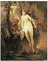 «Диана на охоте» 1846 год. Художник Николай Михайлович Алексеев.jpg