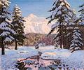 «Снежная зима в горах», 1920-е гг..jpg
