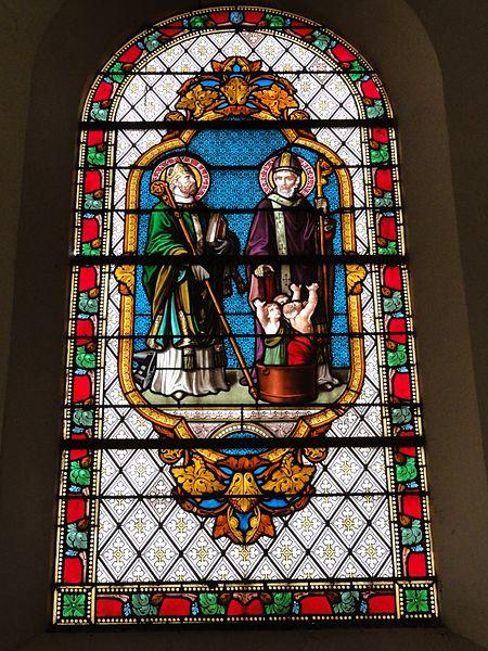 Église Saint-Didier de Baudrémont, vitrail