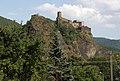 Ústí nad Labem - hrad Střekov, pohled od SZ obr01.jpg