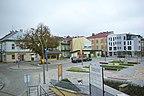 Polska - Sanok, Skrzyżowane ulic Kościuszki i Mi