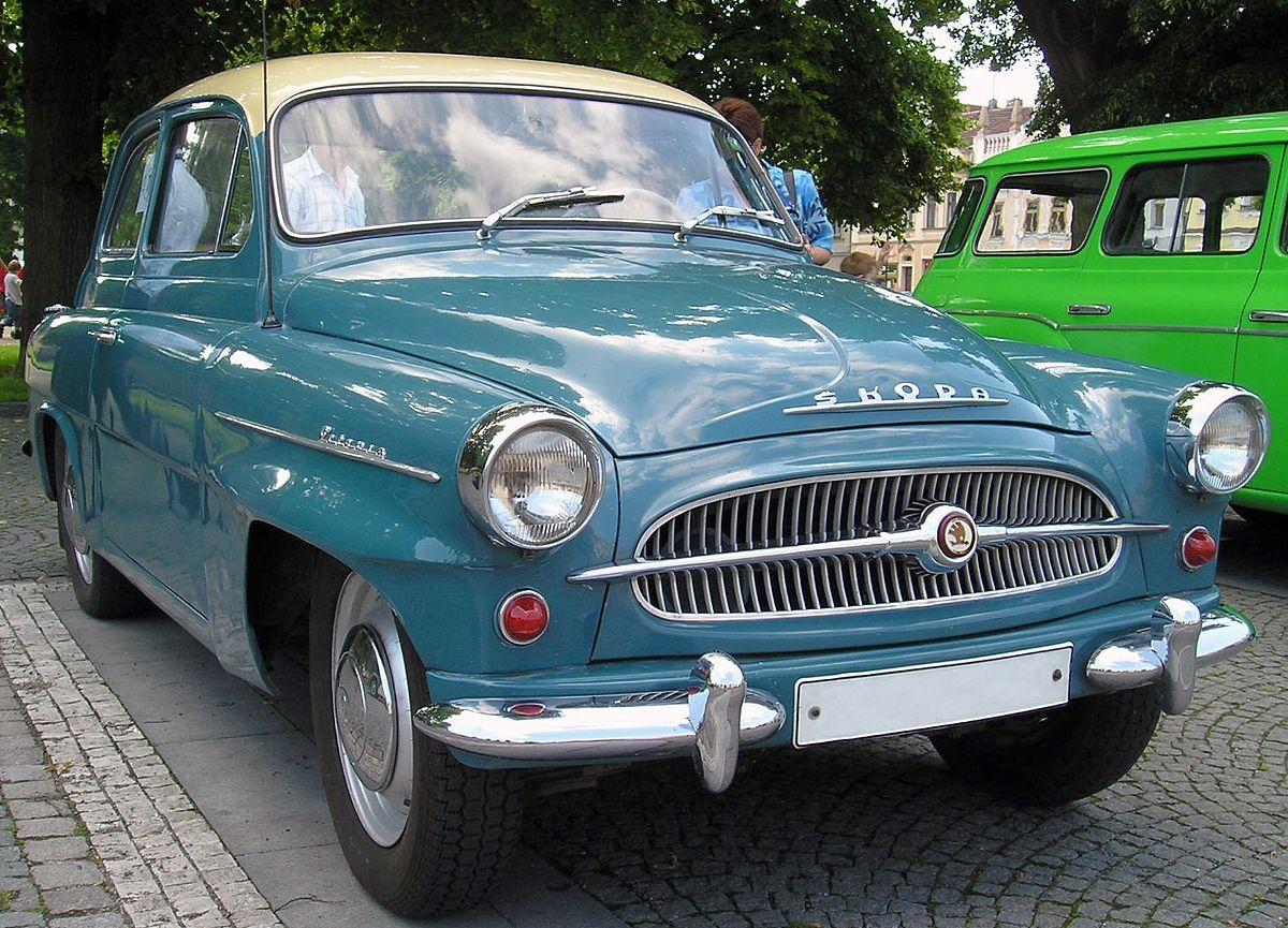 Škoda Octavia (1959) — Вікіпедія