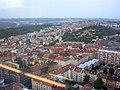 Žižkov, směr Koněvova z žižkovské věže.jpg