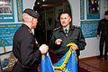 Бойовий прапор Керченської бригади НГУ переданий до Центрального музею НГУ 9699 (26383725645).jpg