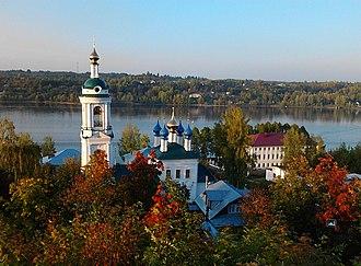 Ivanovo Oblast - St. Barbara Church, Plyos
