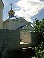 Журавне - Перелаз в огорожі церкви Різдва Богородиці DSCF0255.JPG