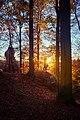 Захід сонця, Скелі Довбуша.jpg
