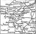 Карта к статье «Иена» № 1. Военная энциклопедия Сытина (Санкт-Петербург, 1911-1915).jpg