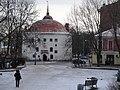 Круглая башня на рыночной площади Выборг.JPG