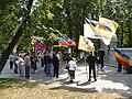 Митинг к 100-летию Первой мировой в Мемориальном парке.JPG