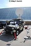 Мобильная станция спутниковой связи МССС СБА-14УМО на шасси УАЗ-3151 - МВСВ-2008 02.jpg