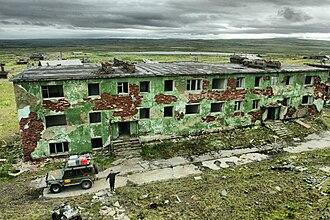 Rybachy Peninsula - Image: Мыс Скоробеевский