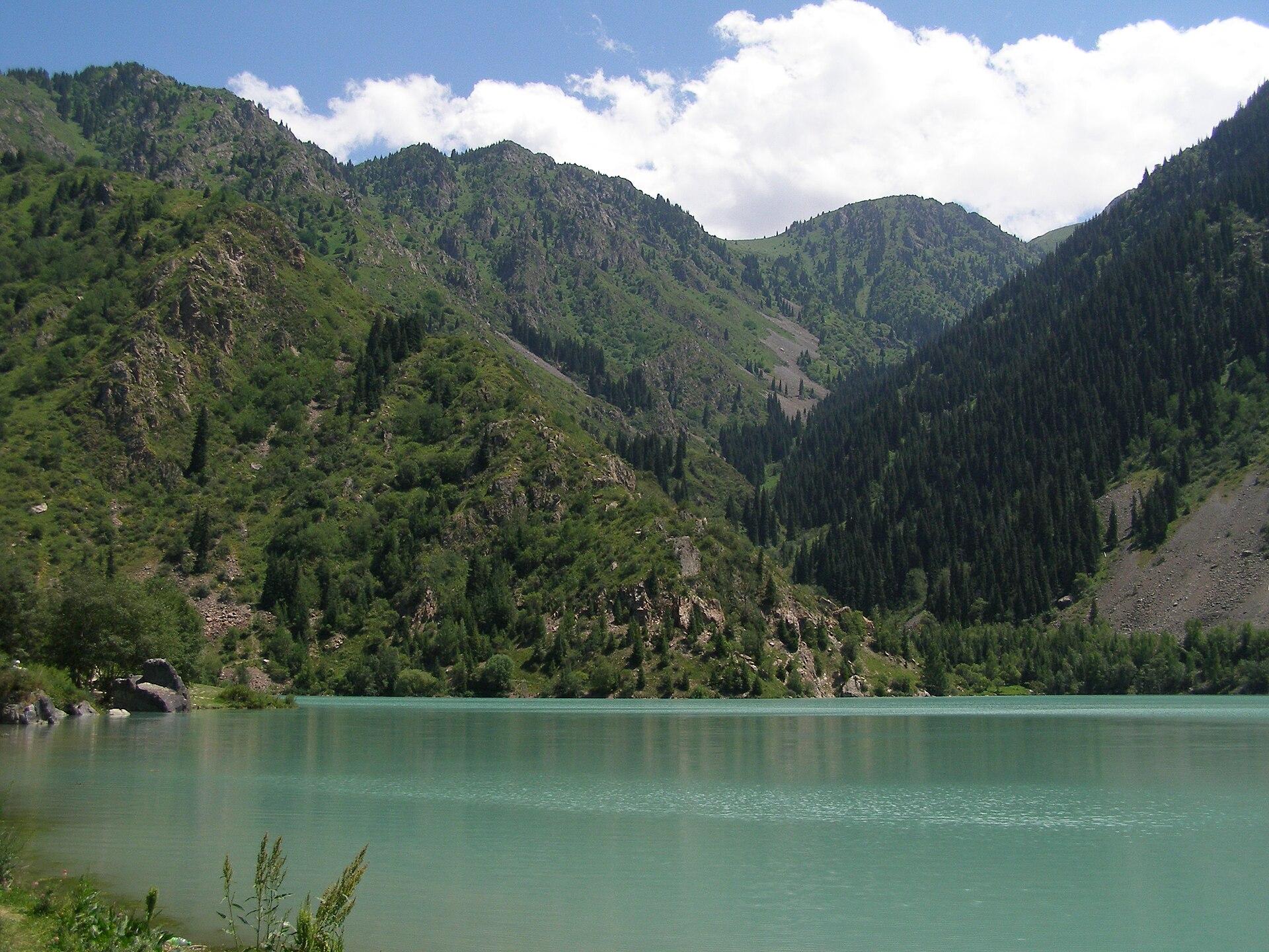 Jezioro Issyk w Kazachstanie