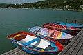Прокат лодок на Озере в Абрау-Дюрсо - panoramio.jpg