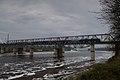 Река Волхов, трубы алюминиевого завода, ГЭС и железнодорожный мост, г. Волхов.jpg