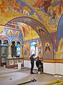 Реставраторы Никольской надвратной церкви Борисоглебского монастыря..JPG