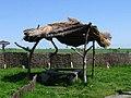 Ур. Мерачоўшчына (Косава), навес - Meračoŭščyna (Kosava), sun blind - panoramio.jpg