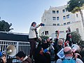 הפגנת מחאה מול הווילון השחור בבכניסה לבית ראש הממשלה בבלפור שבת אחר הצהריים 26 בדצמבר 2020 (7).jpg