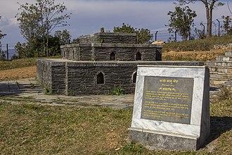 Pande family - Kalu Pande Memorial Park, the grave of highly dignified Pande war hero Kalu Pande