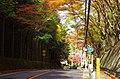 国道162号(周山街道) 御経坂峠 Mikyōzaka-tōge 2013.11.21 - panoramio.jpg
