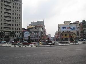 Xinying District - Image: 新營圓環