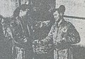米軍機墜落で救助したことを感謝する様子 in 1957-12-23.jpg