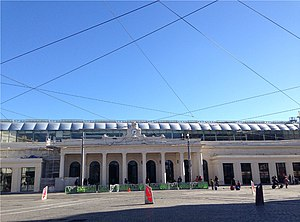 La gare de Montpellier-Saint-Roch.