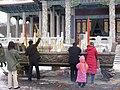 새해기원 중국 안산 玉佛寺에서 2006년 - panoramio.jpg