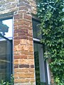 -2005-06-27 Sandstone mullion, Fawsley Hall, Northamptonshire (3).JPG