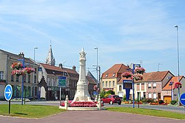 Monument in the town centre