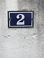 02, rue des Andrés, numéro de rue à Saint-Maurice-de-Beynost (Ain, France).jpg