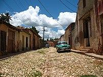 Calle de Trinidad (Cuba), ciudad declarada Pat...