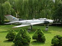 0312 a MiG-19S preserved at Horni Nemci Czech Republic (3117339353).jpg