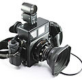 0404 Mamiya Universal Super 23 75mm lens with finder (5873432370).jpg