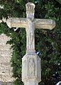 044 Creu de terme, pl. Església (Vallfogona de Riucorb).jpg