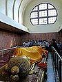 062 Parinirvana Statue from the Head, Kusinara (9239657244).jpg