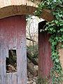 079 Casalot abandonat a Marmellar, porta.JPG