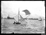 10 footer sailing near Fort Denison, Sydney Harbour (7349827370).jpg
