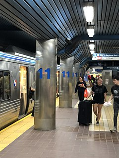11th Street station (SEPTA) Rapid transit station in Philadelphia