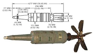 High-explosive anti-tank warhead - Soviet 125 mm HEAT BK-14