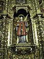 133 Sant Pere de Terrassa, retaule de Sant Valentí, imatge del sant.JPG