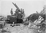 13 pounder 9 cwt AA gun and crew Italy WWI IWM Q 26825.jpg
